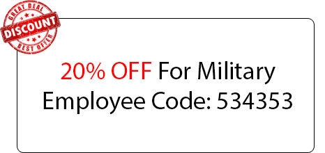 Military Employee 20% OFF - Locksmith at Mansfield, TX - Mansfield Tx Locksmith